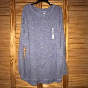 Tek Gear Women's Plus Long Sleeve Tee Shirt